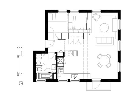 floor planner two apartments in modern minimalist japanese style