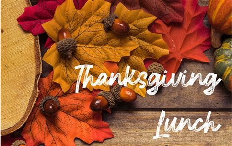 Thanksgiving Lunch | First Baptist Church Greensboro