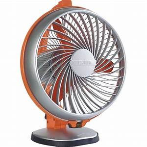 Luminous Table Fan - Buddy Royal Orange Best Deals With