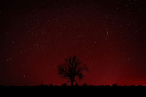 Red Sky At Night (falling Star) By Ejmcgowan On Deviantart