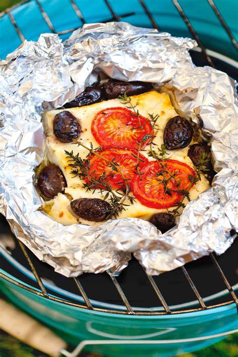 schafskaese grillen mit tomaten oliven rezepte von foodio