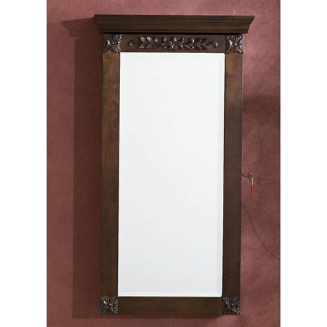 Vivienne Wall mount Jewelry Armoire   300131, Jewelry at