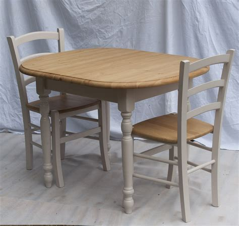 painted small extending table 4 painted bistro chairs