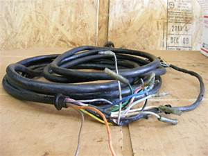 Yamaha Harness Wire Engine Cable 22 U0026quot  Engine To Key Switch 8 Pin Outboard