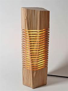 Lampe Mit Holzstamm : kreative designer lampen aus naturholz ~ Indierocktalk.com Haus und Dekorationen