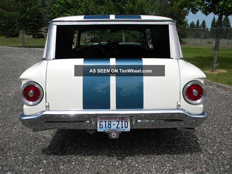 ford falcon station wagon towing capacity