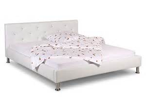 schlafzimmer bett 140x200 bett 140x200 kunstleder creme polsterbett betten schlafzimmer 15893 neu ebay