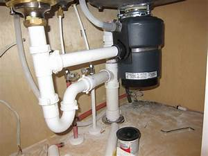 Kitchen Sink Plumbing Diagram With Disposal