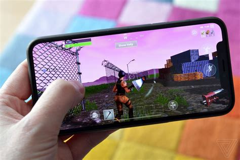fortnite   open    ios  verge