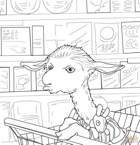 Llama Llama Mad At Mama Coloring Page Free Printable