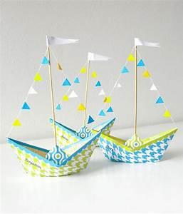Einfache Bastelideen Für Kleinkinder : papierboot vorlage kostenlos diy ~ Orissabook.com Haus und Dekorationen