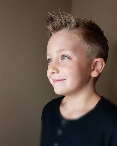 Boys Hairstyles by 31 Cutest Boys Haircuts For 2018 Fades Pomps Lines More