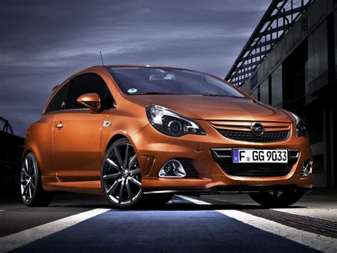 opel corsa opc nuerburgring edition hot hatch