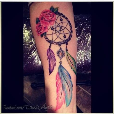 colorful dreamcatcher tattoos 25 best ideas about dreamcatcher tattoos on