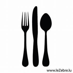 Couvert De Cuisine : autocollant couverts de table ~ Teatrodelosmanantiales.com Idées de Décoration