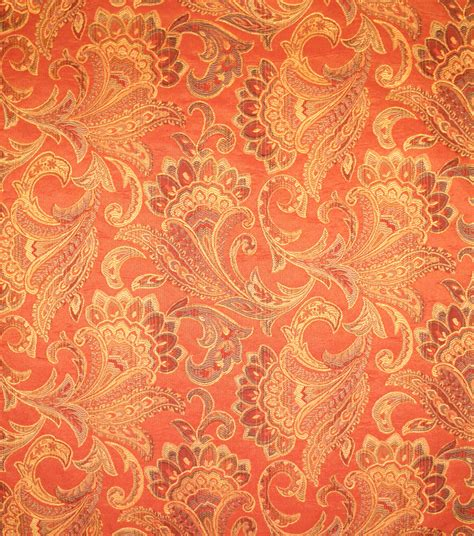 Coral Upholstery Fabric by Upholstery Fabric Barrow M8625 5213 Coral Jo