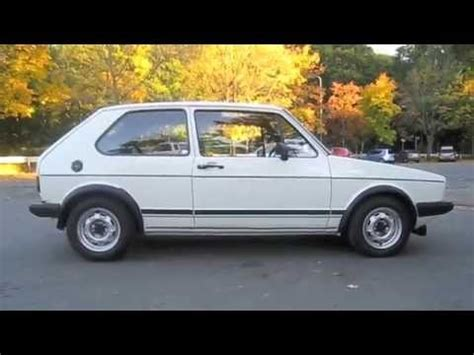 Golf 1 Gti (das Original) Youtube
