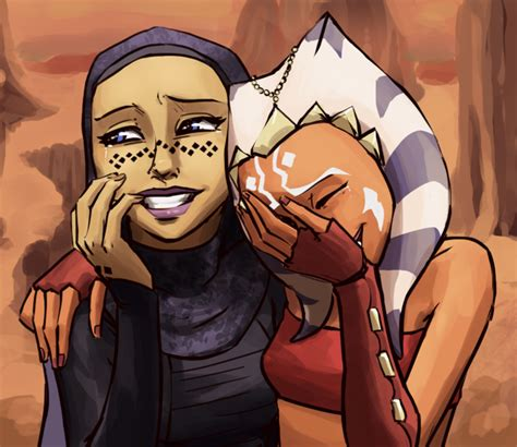 ahsoka and barriss girls laughing know your meme