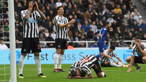 Newcastle fans react to their defeat against Chelsea ...