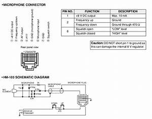 Icom Microphone Wiring Diagram  Wiring  Wiring Diagram Images