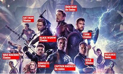 Avengers Endgame Male Superheroes Battle Captain America