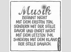 Let the music play… 6 Sprüche über Musik · Häfftde