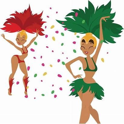 Samba Clipart Dancer Dancing Dance Performance Clip