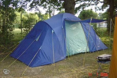 tente 4 places 2 chambres toile de tente marechal bleue 6 places