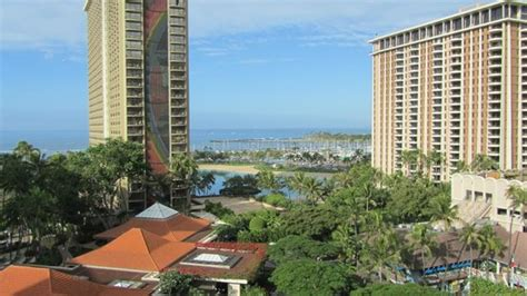 Tapa Tower view  Picture of Hilton Hawaiian Village