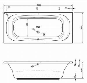 Badewanne 200 X 120 : badewanne 200 x 90 x 49 cm badewanne badewanne rechteck rechteckwanne 200 ~ Bigdaddyawards.com Haus und Dekorationen