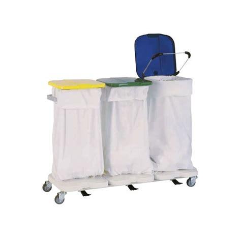 chariot porte sac avec couvercles et p 233 dales