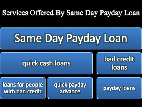 day payday loan    working people