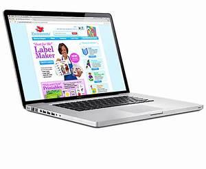 Label maker website miller design marketing for Label maker website