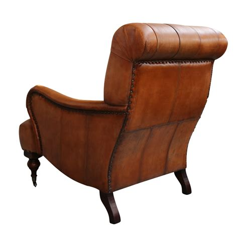 Back Chair by European Design Tufted High Back Leather Chair