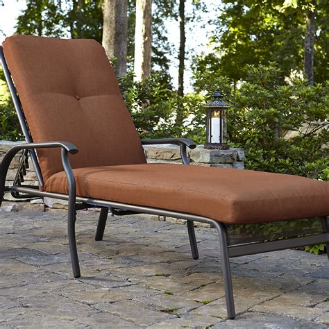 smith clermont cushion lounge rust outdoor