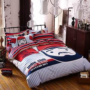 Mustache Bedding Set Queen Size | EBeddingSets