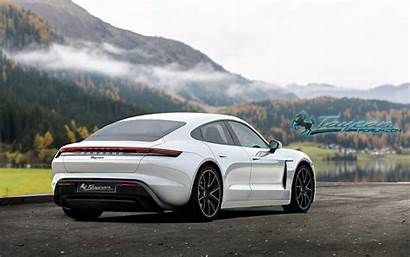 Porsche Taycan Renders Mission Early