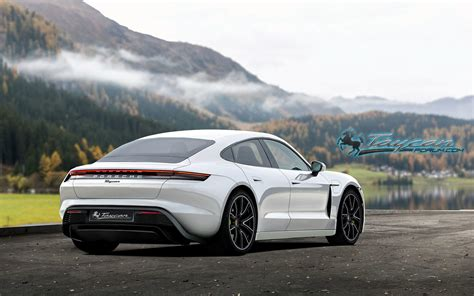 Early Renders Show What The Gorgeous Porsche Taycan Will ...