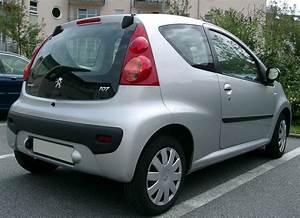 Dimension Peugeot 107 : file peugeot 107 rear wikimedia commons ~ Maxctalentgroup.com Avis de Voitures