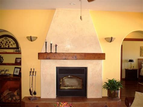 Image Result For Venetian Plaster Fireplace Fireplace