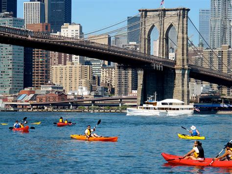 Living On A Boat In New York City by Manhattan Living 183 10 Places To Kayak For Free In Nyc This