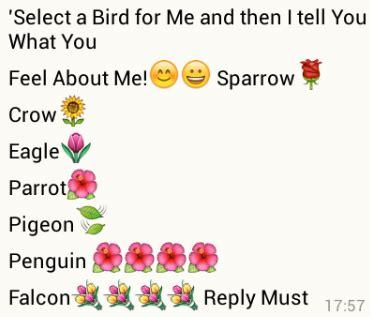 select  bird   whatsapp games puzzles world