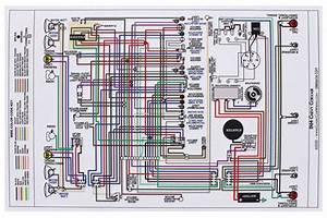 Wiring Diagram  1964 Corvair   All  Car  11x17  Color