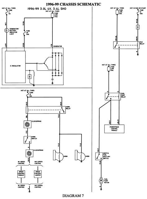 2002 mercury sable wiring diagram otorva org