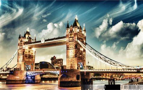 custom photo  room wallpaper london bridge construction