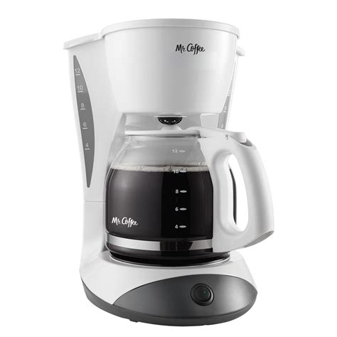 When i hold the hour button or but you definitely want to use a paper filter, or you will have coffee grounds for breakfast, instead of eggs! Mr. Coffee® Simple Brew 12-Cup Switch Coffee Maker White ...