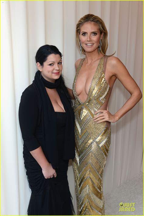 Heidi Klum Elton John Oscars Party Photo