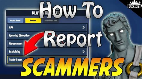 fortnite   report scammers leechers  afks
