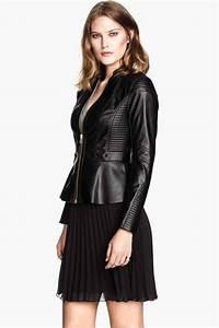 Veste Style Motard Femme : veste de style motard h m shopping vetements ~ Melissatoandfro.com Idées de Décoration