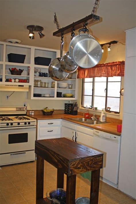 kitchen islands diy 30 rustic diy kitchen island ideas